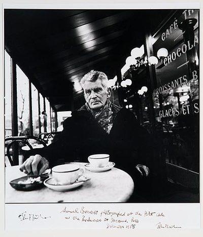 Samuel Beckett, (Boulevard St. Jacques, Paris 1985)