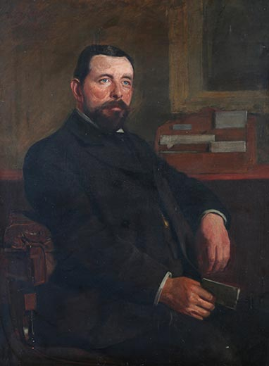 Portrait of P. F. Higgins