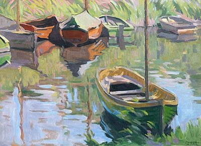 Boats on the Stour