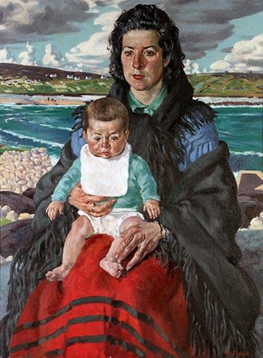 Mathar agus Naoidhneann (Mother and Child)