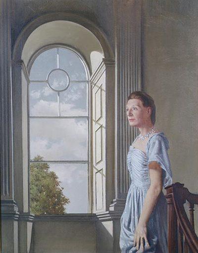 Portrait of Elizabeth Bowen at Bowenscourt