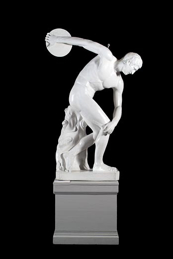 The Lancellotti Discobolus (Greek 5TH B.C.)