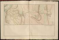 Atlas de Trudaine pour la Généralité de Bourges n° 12. Route de Bourges à Tulle jusqu'à Aigurande où finit la généralité. Passant par Chateauneuf, Linières et La-Châtre. (Cher, Indre). Route de Bourges à Tulle (14 cartes). Pont de cette route (14 feuilles). Copie des mêmes ponts (10 feuilles). Portion du grand chemin de Bourges à La-Chastre au sortir de Châteauneuf-sur-Cher  vers Echéneuil (Ecleneuil), Hurtault (Endureteau), Scay (Cay) et Varennes.