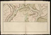 Atlas de Trudaine pour la Généralité de Bourges n° 12. Route de Bourges à Tulle jusqu'à Aigurande où finit la généralité. Passant par Chateauneuf, Linières et La-Châtre. (Cher, Indre). Route de Bourges à Tulle (14 cartes). Pont de cette route (14 feuilles). Copie des mêmes ponts (10 feuilles). Portion de la route de La-Chastre à Aygurande par Chassignolles (Chachignol) à partir de l'embranchement de la route de Guéret et du chemin de Chassignolles (Chachignol) par Le-Magny.