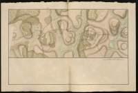 Atlas de Trudaine pour la Généralité de Bourges n° 12. Route de Bourges à Tulle jusqu'à Aigurande où finit la généralité. Passant par Chateauneuf, Linières et La-Châtre. (Cher, Indre). Route de Bourges à Tulle (14 cartes). Pont de cette route (14 feuilles). Copie des mêmes ponts (10 feuilles). Portion de la route de La-Chastre à Aygurande passant par Lazay, et allant au-delà du ruisseau des Forges.