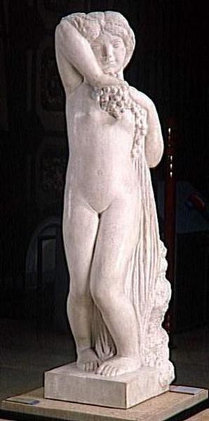 statuette ; Faunesse ; Grande bacchante ; Jeune bacchante ; Jeune faunesse