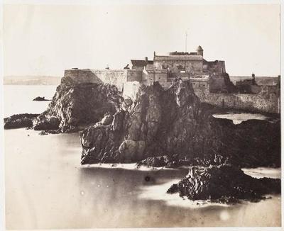 tirage photographique ; Le château Elizabeth