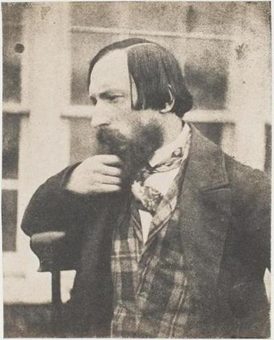 tirage photographique ; Autoportrait devant la fenêtre de la serre de Marine Terrace