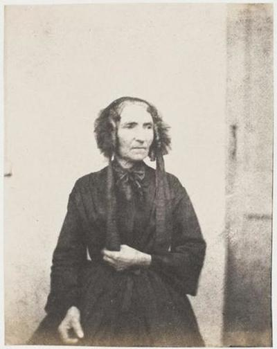 tirage photographique ; Madame Vacquerie mère,  de face