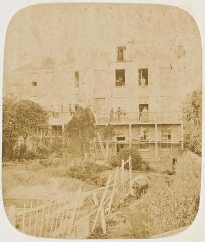 tirage photographique ; Hauteville House