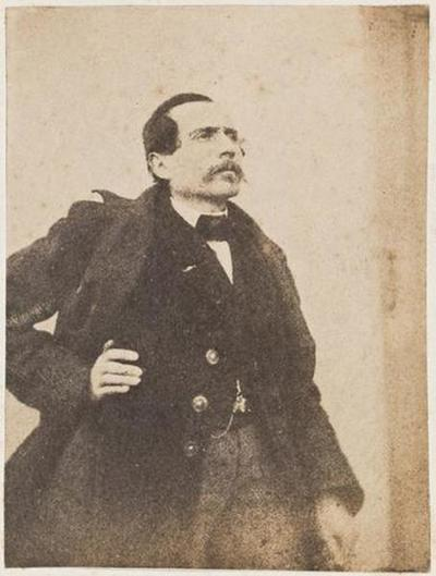 tirage photographique ; Théophile Guérin, de profil