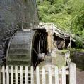 Waterwheel at Castle Mill, Dunster, Somerset