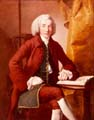 Portrait of Thomas Borrow by Joseph Wright