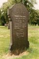 Harry Paulson's gravestone, General Cemetery, Waverley Street, Nottingham, c 1987