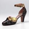 Ankle strap shoe