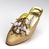 Mock reptile shoes by Manolo Blahnik