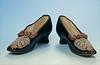 Womens kid court shoe