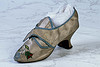 Womens Ivory Satin shoes