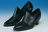 Mens leather beatle shoe