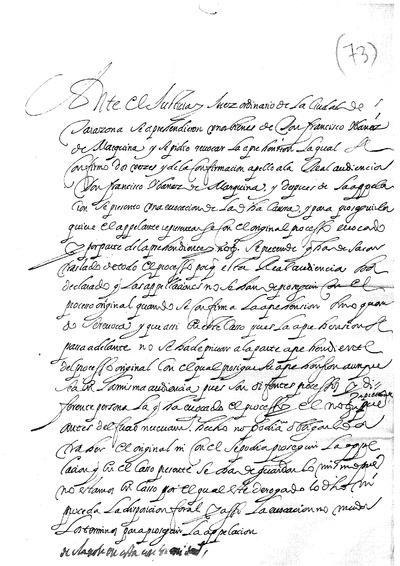 Ante el Justicia Juez ordinario de la Ciudad de Tarazona se aprehendieron unos bienes de Don Francisco Ibañez de Marquina, ...