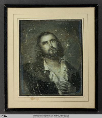 Kunstreproduktion (Christusbild)