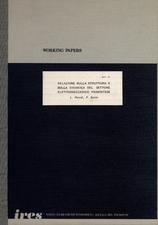 Relazione sulla struttura e sulla dinamica del settore elettromeccanico piemontese
