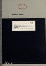 Un'analisi, con il modello RAMOS, della struttura spaziale del servizio sanitario regionale : il caso del Piemonte