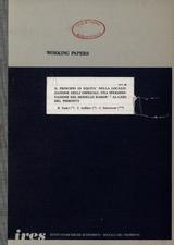 Il principio di equità nella localizzazione degli ospedali: una sperimentazione del modello RAMOS-1 al caso del Piemonte
