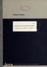 Manuale per l'uso del modello RAMOS -1