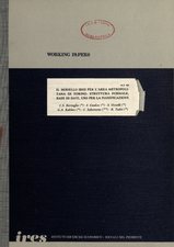 Il modello Ires per l'area metropolitana di Torino: struttura formale, base di dati, uso per la pianificazione