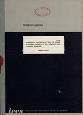 Rapporto preliminare per un osservatorio regionale sul mercato del lavoro pubblico