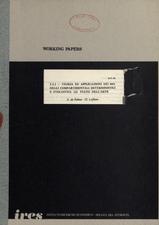 2.2.1 - Teoria ed applicazioni dei modelli compartimentali deterministici e stocastici : lo stato dell'arte