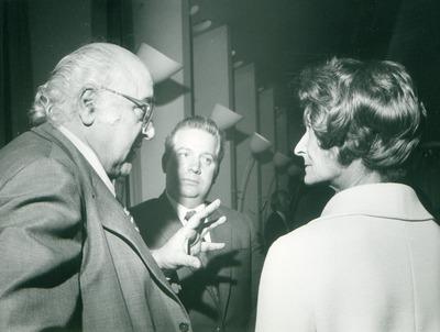 IFF 1972. Export Union Haus der Kaufleute. Chef des Pegasus Film Sergio Gambaroff