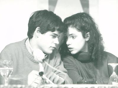 IFF 1987. Jorge Sanz und Maribel Verdu. Das Jahr der Aufklärung, Spanien