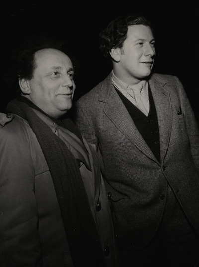 Die Liebe der vier Obersten, Schlosspark Theater, Febr. 1952, Boleslaw Barlog, Peter Ustinov