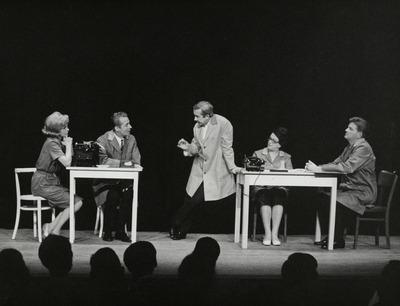 Das elfte Gebot: Ingrid van Bergen, Joachim Schröder, Wolfgang Gruner, Inge Wolffberg, Joachim Röcker