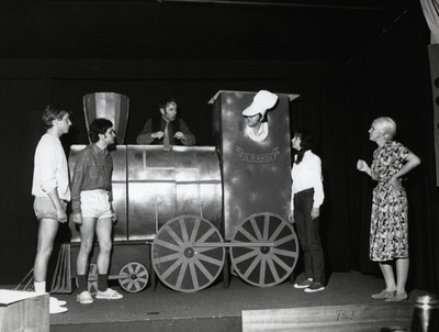 Stokkerlok und Millipilli: Knut Reschke, Theodor Puechel, Wolfgang Wiehe, Dieter Kursawe, Barbara Maasch, Irene Jarosch