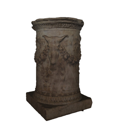 Roman Ara with circular shape