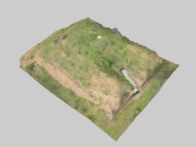 Mound 302 from Onde Marine archaeological area