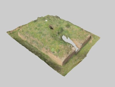 Mound 303 from Onde Marine archaeological area