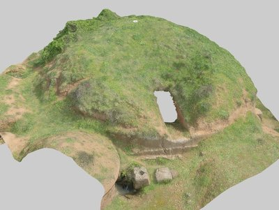 Mound 308 from Onde Marine archaeological area