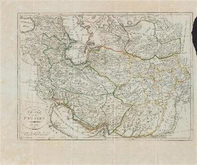 Karte von Persien