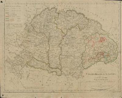 Charte von den Königreichen Ungarn, Kroatine und Slavonien mit dem Grossfürstenthume Siebenbürgen