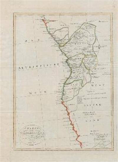 Karte von Nieder Guinea nach den besten vorhandenen Hilfsmitteln und den neuesten Nachrichten entworfen