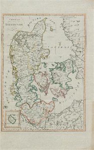 Karte von Denmark