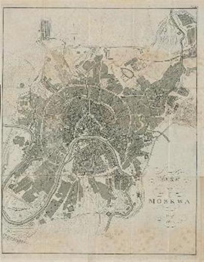 Plan von Moskva