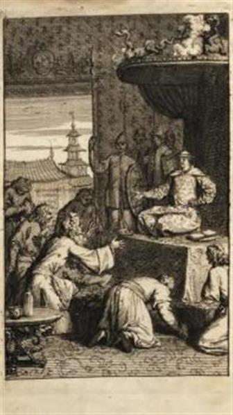Relation du voyage de Mr. Evert Isbrand, envoyé de sa Majesté Czarienne a l'Empereur de la Chine en 1692, 93, & 94. Par le sieur Adam Brand