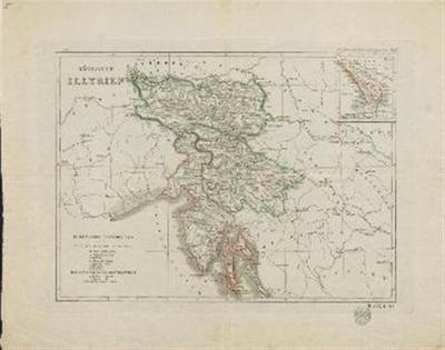 Königreich Illyrien; Das Gebiet der Stadt Triest in grösserem Maasse