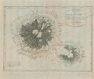 Karte der Insel Otaheite; Nach der Messung des Capitan Cook im Jahre 1769, und dessen späteren astronomischen Beobachtungen entworfen von Capitan William Wilson