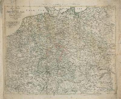 Post Karte durch ganz Deutschland